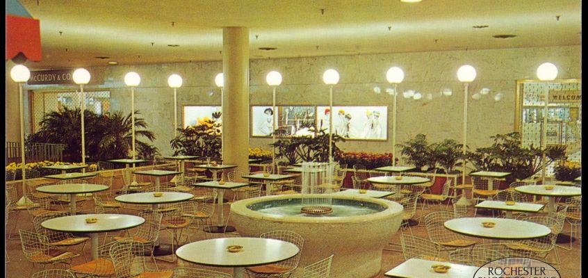 Midtown Plaza Sidewalk Cafe, c.1962