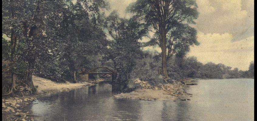 Mouth of Red Creek, c.1905