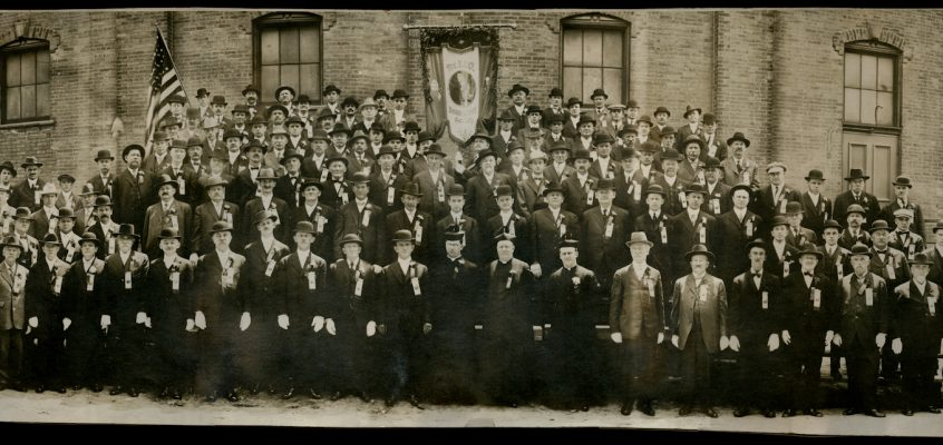 St. Leo's Benevolent Society at St. Michael's Church, c.1911