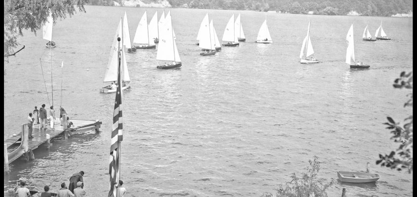 Rochester Canoe Club, Thistle Races, c.1954